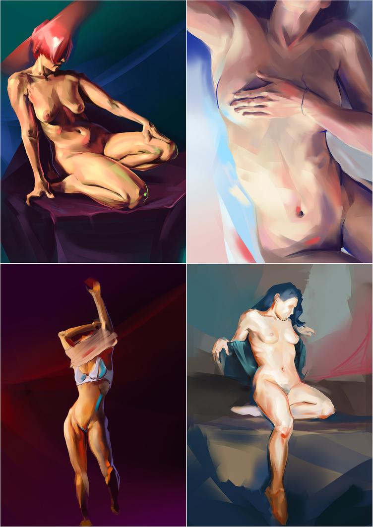 Figure studies by minu5natul