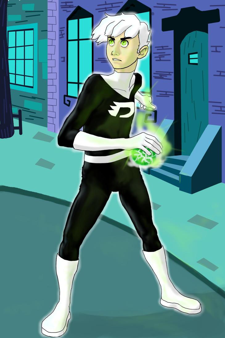 Danny Phantom: Ready for a Fight by aileri