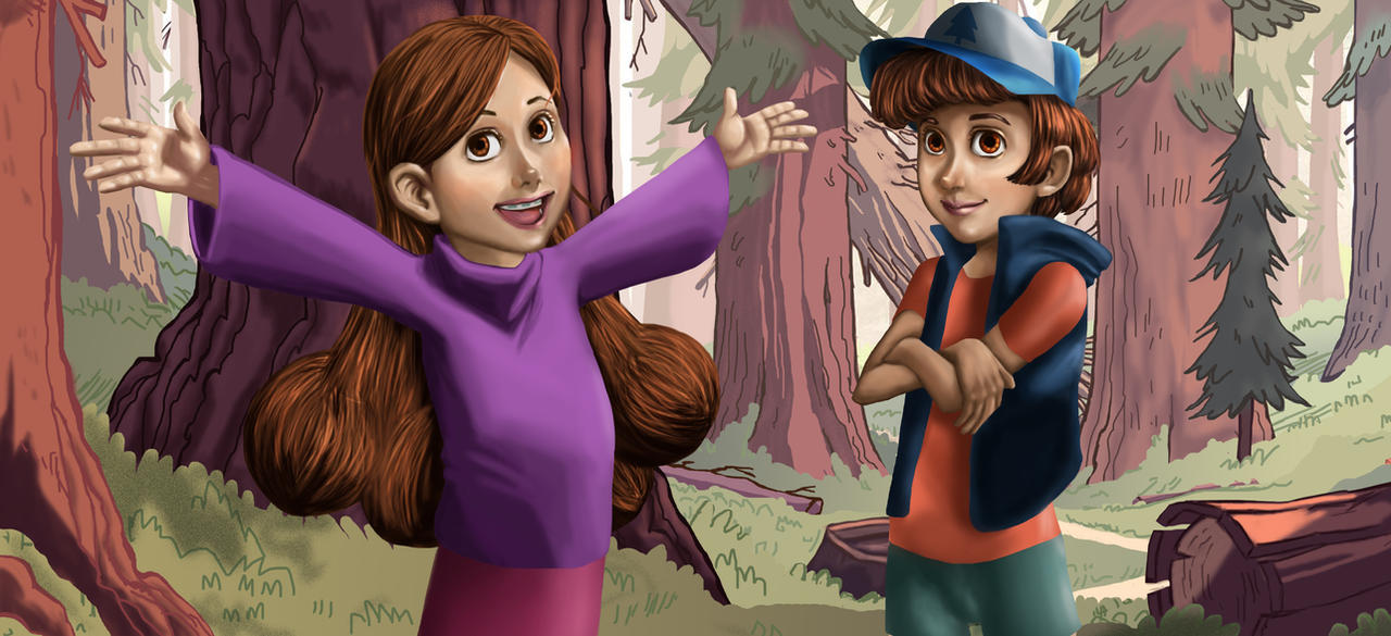 Mystery Twins by aileri