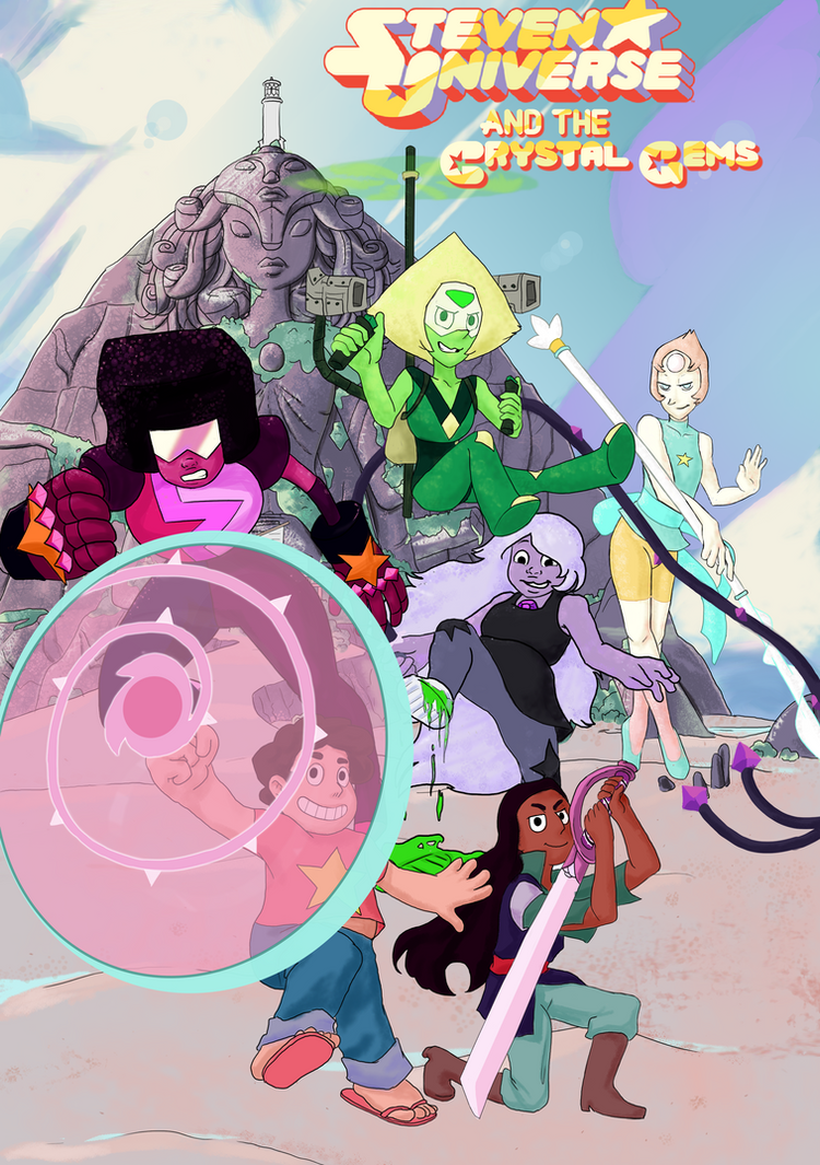 Peridot and the Crystal Clods by aileri