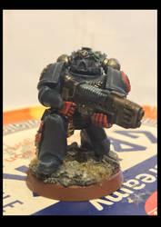 Crimson Fists Plasmagun Specialist