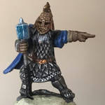 Mordheim Dwarf Mercenary Leader