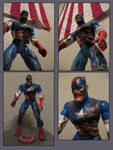 Captain America Zombified