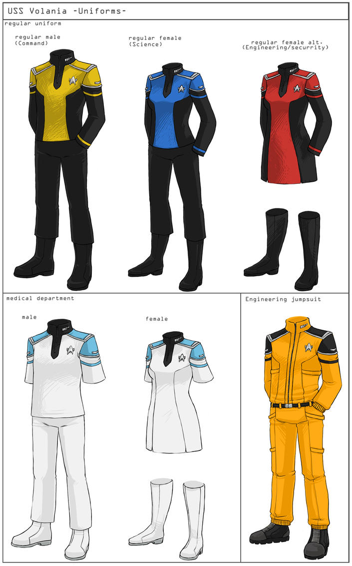 Difference Between Concept Art And Character Design : St uniforms concept by nomnomroko on deviantart