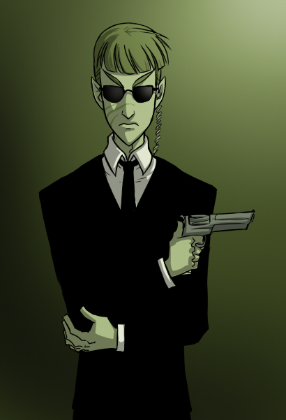 Agent Sibek by Merokosart