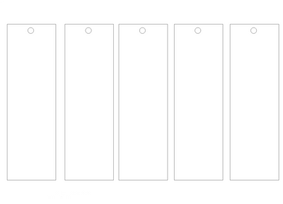 Bookmark template markings by pink gizzy on deviantart for Design a bookmark template