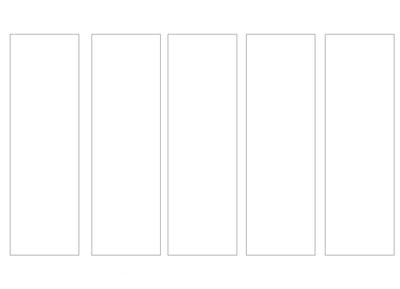 bookmark size