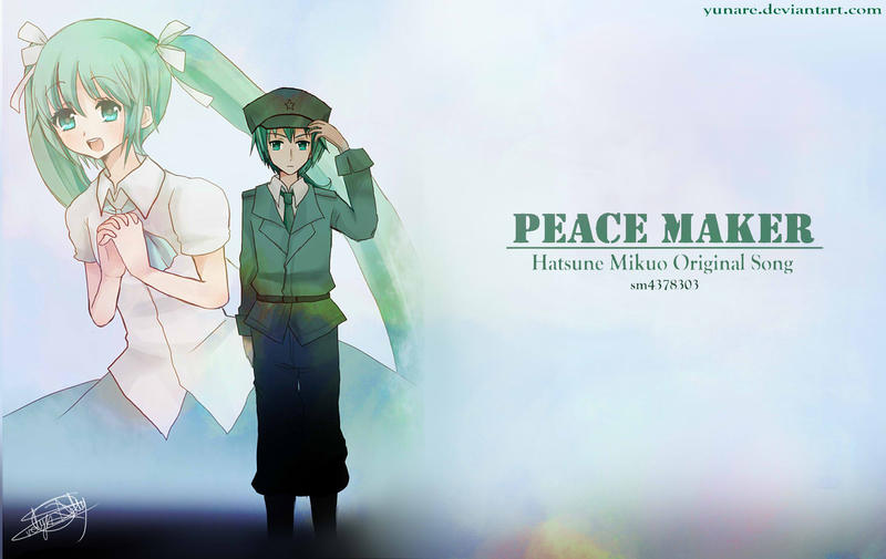 wallpaper peace maker by - photo #24