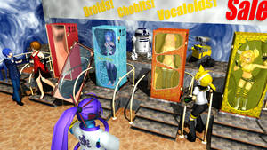 MikuMikuDance Accessory - Doll Boxes