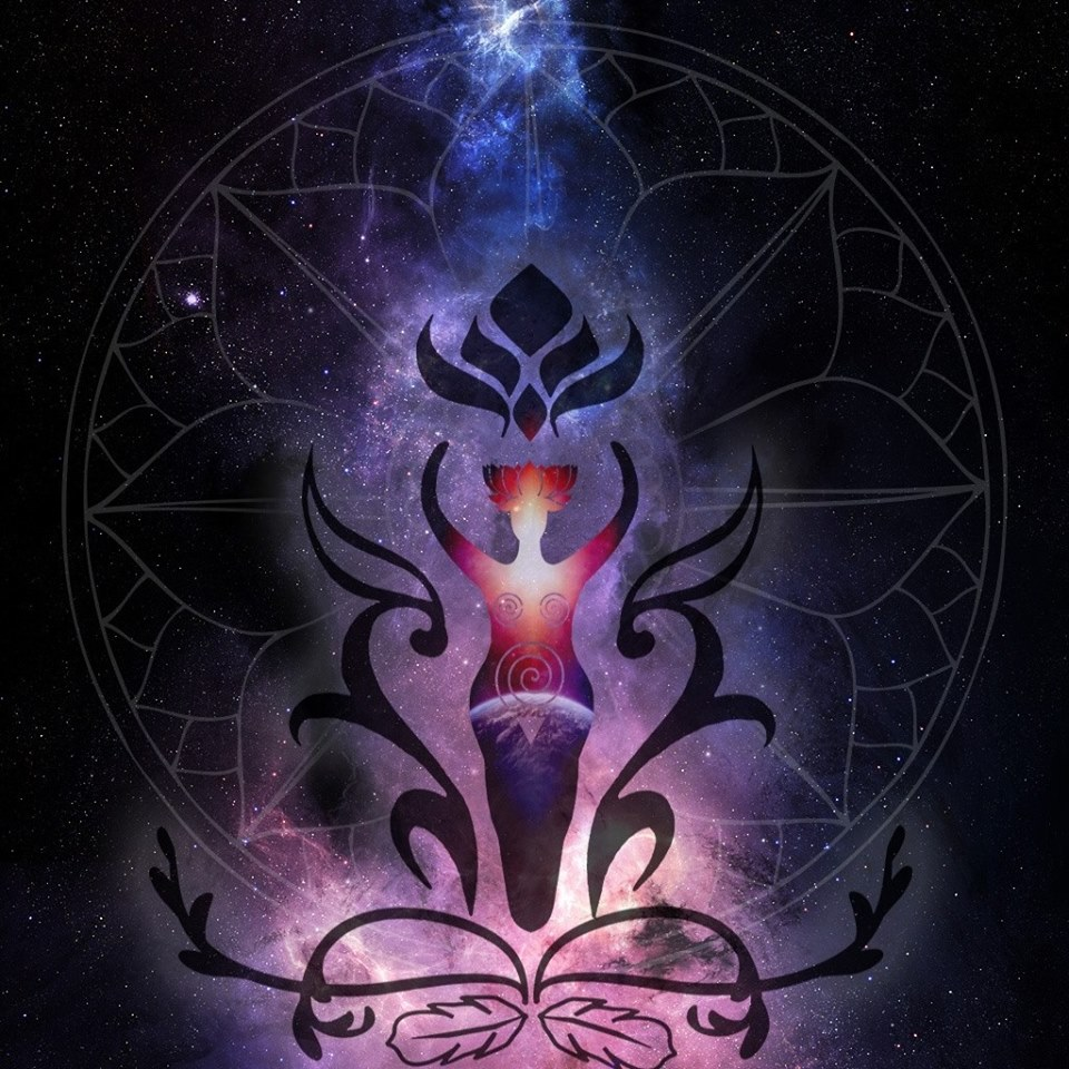 logo for CosmicSophiRa by chacruna-mtina