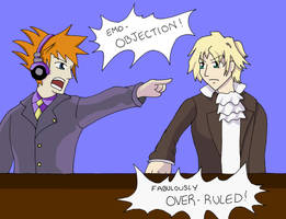 Phoenix Wright and Twewy