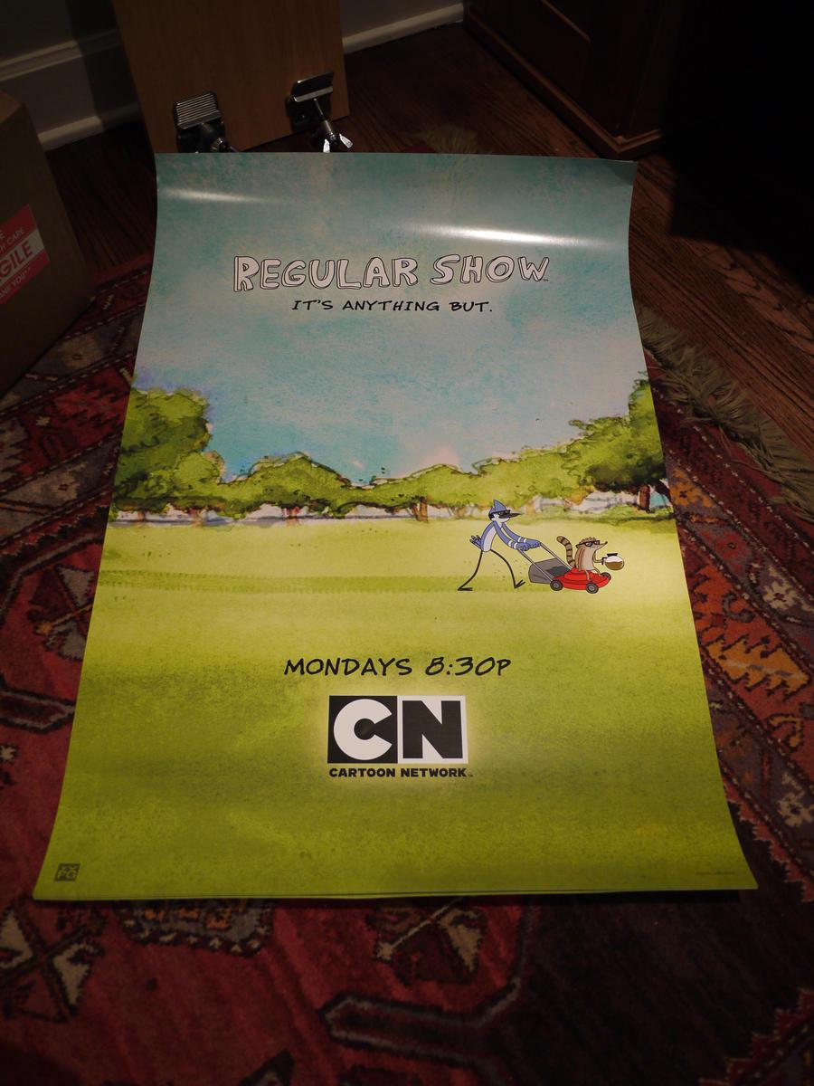 Regular Show Poster by JGQuintel