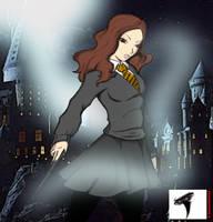Hermione art jam by dinohunterx