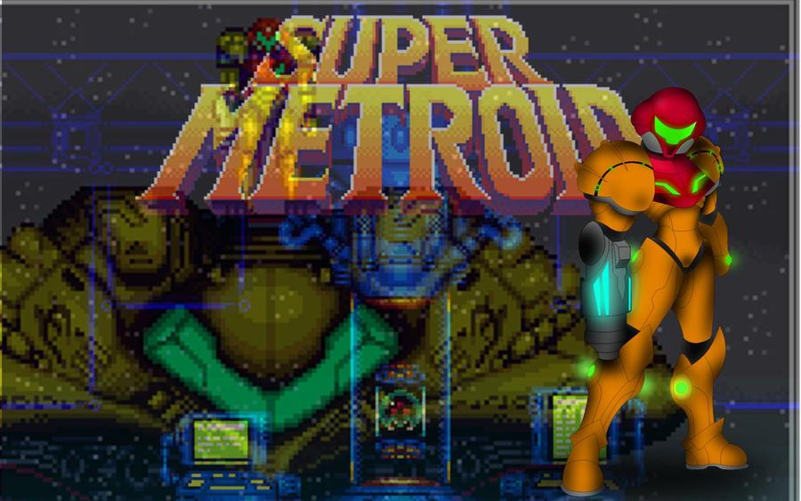Super Metroid Wallpaper By Dinohunterx