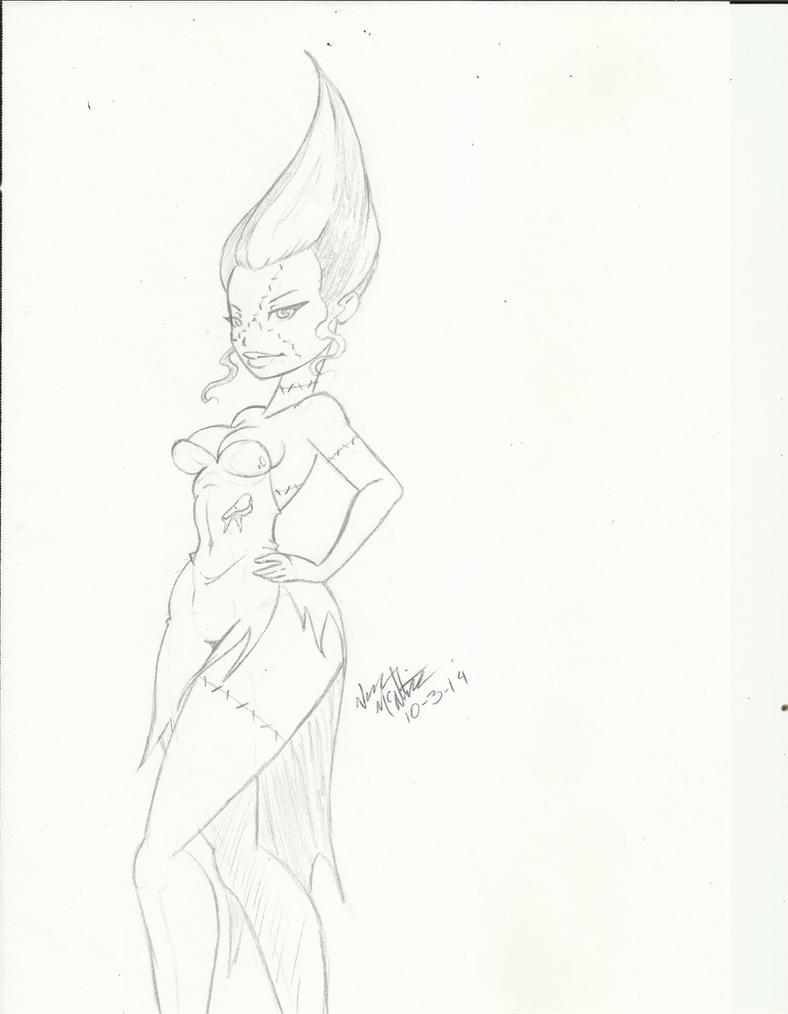 Classy Olivia Dedd by dinohunterx