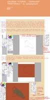 Tutorial :colouring in a semi-traditonal way.