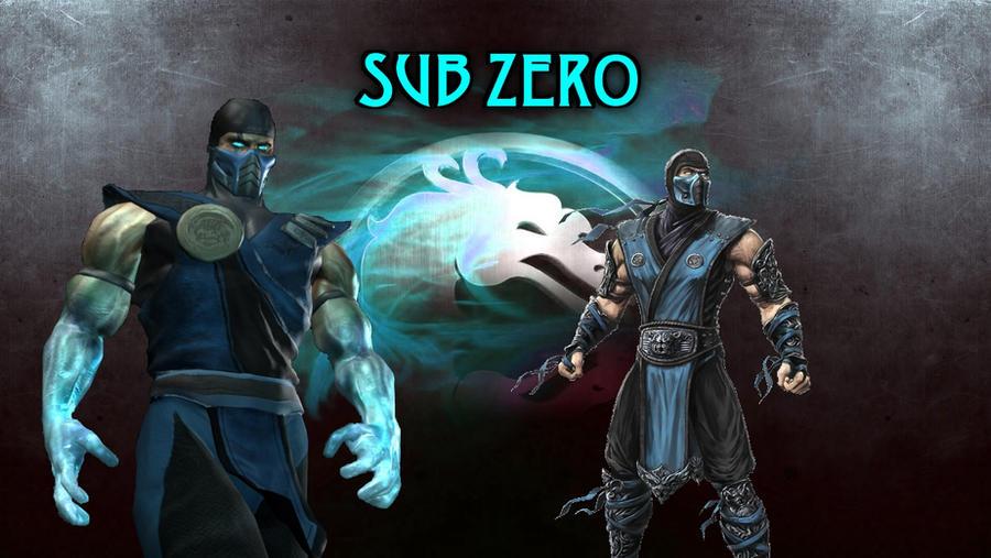 sub zero mortal kombat characters wallpaper