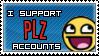 Plz accounts stamp