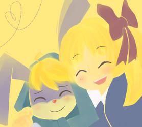 Hug by magicow