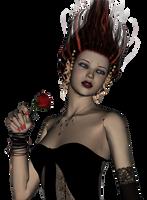 dark girl 885 stock by Ecathe