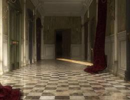 Daz Corridor render by Ecathe