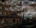 Ruin stock city day