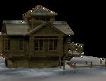 River cottage abandoned