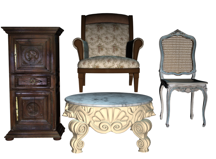 Furniture pack 02 PNG