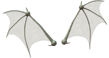 Bat wings stock by Ecathe