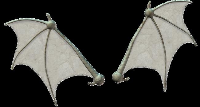 Bat wings stock