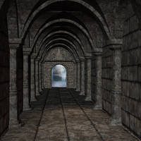 premade  background room 07 by Ecathe