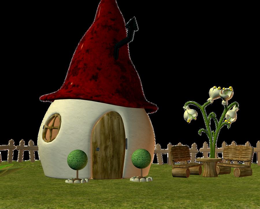 Elf Fairy house 03 by Ecathe on DeviantArt
