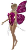 Little pink fae request by Ecathe