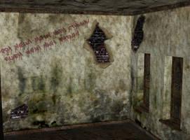 abandoned asylum room 27 by Ecathe