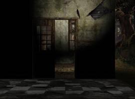 abandoned asylum room 26 by Ecathe