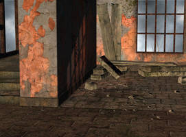 room interior abandoned stock by Ecathe