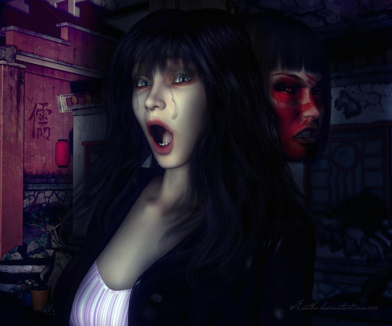 Demon in my head by Ecathe