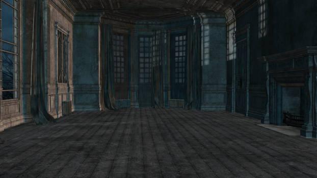 abandoned room 04 stock