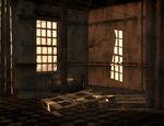 abandoned room 03 stock