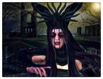 Freya - queen of cats by Ecathe