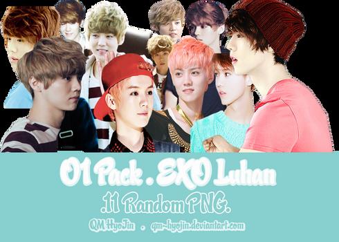 [PNG] 01Pack EXO Luhan by qm-hyojin