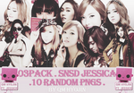 [PNG] 03Pack SNSD Jessica by qm-hyojin