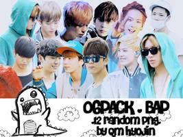 [PNG] 06Pack BAP by qm-hyojin