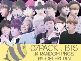 [PNG] 07Pack BTS by qm-hyojin