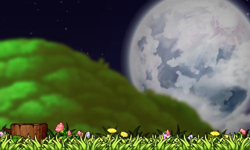 Night Park by ixRawrmarshmallow