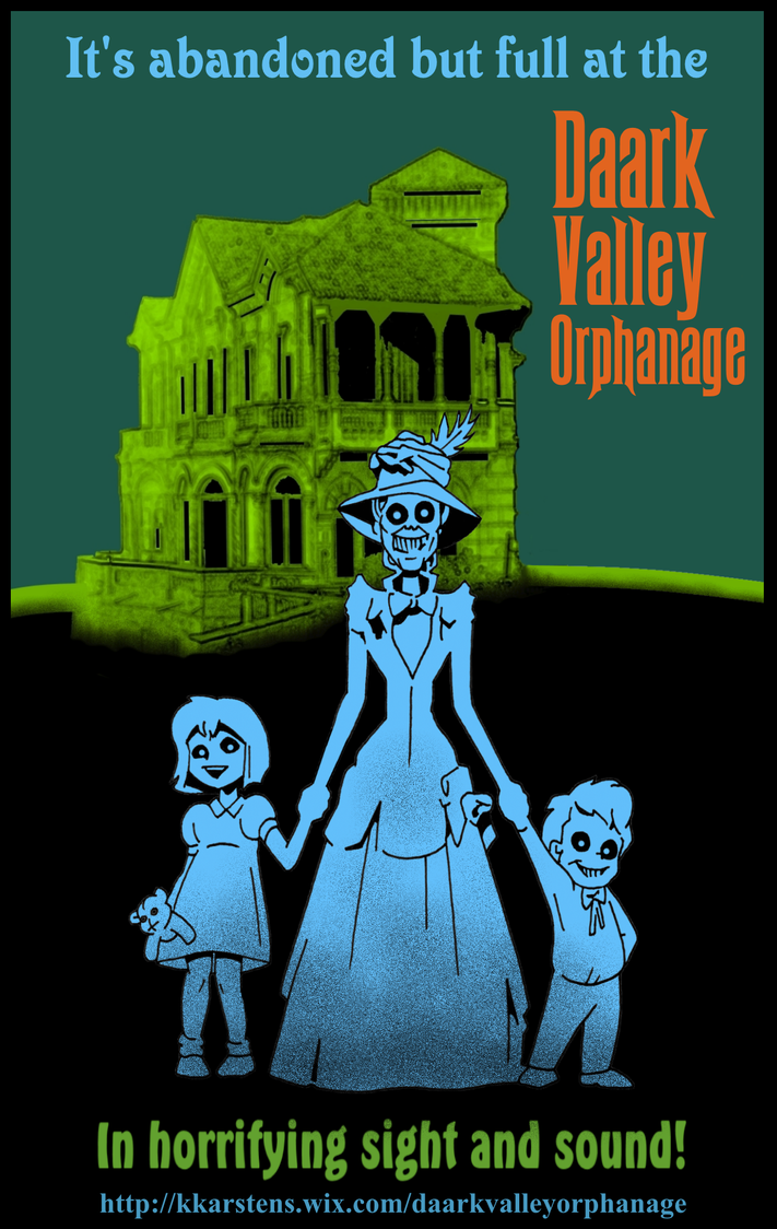 Daark Valley Poster by karcreat
