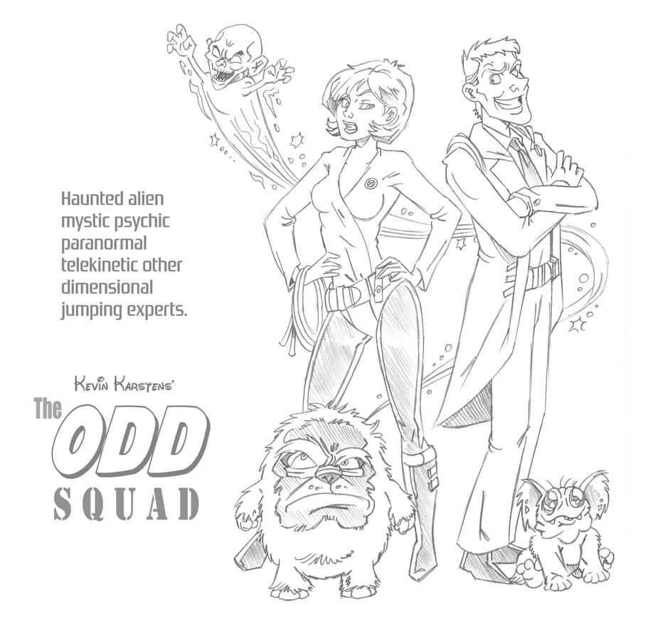 The Odd Squad by karcreat