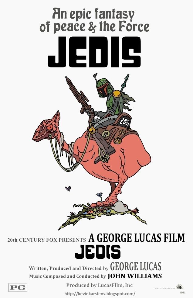 Jedis (Wizards Movie Poster Parody) by karcreat