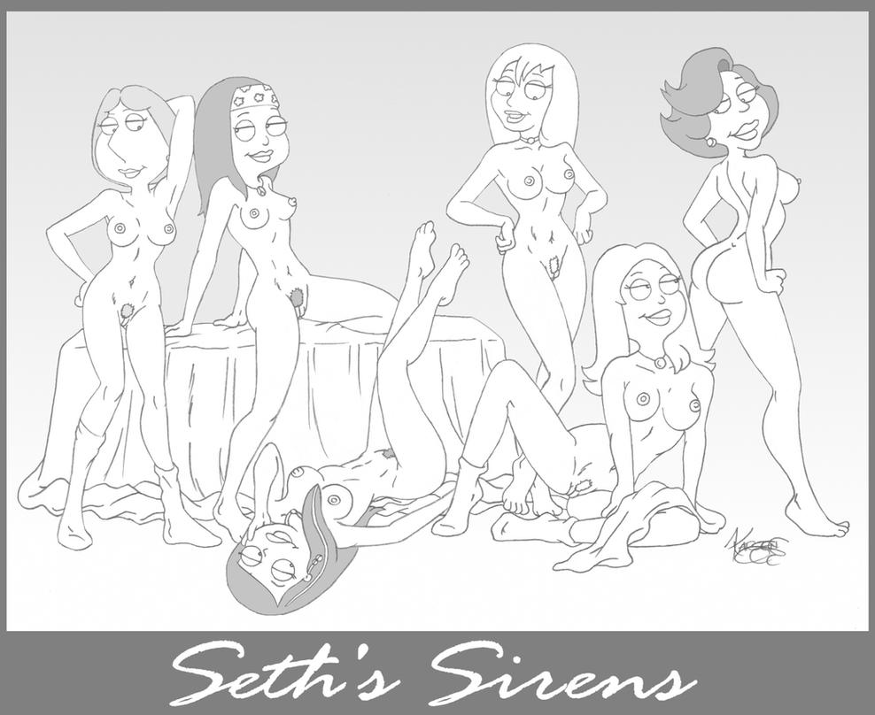 Seth's Sirens by karcreat