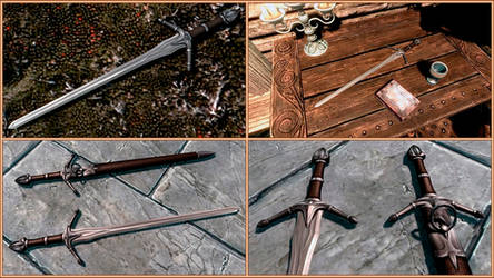 Windbringer Sword by RonnieTheBlacksmith